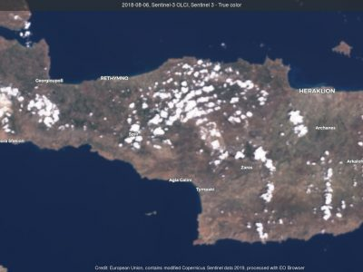 The climate of the city of Heraklion, Crete and how drought and African winds impact ecosystems and communities.