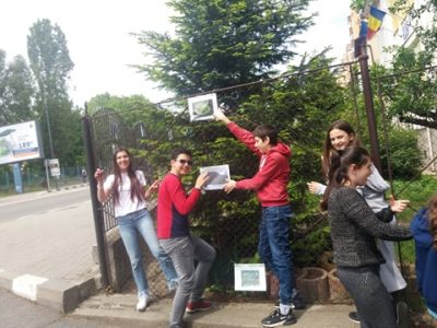 Climate detectives from Waldorf School, Rm Valcea, Romania