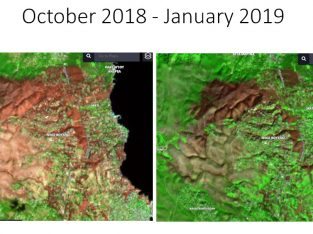 Study on the impact of the wildfire of the 23rd of July, 2018 on Rafina's microclimate, using satellite data provided by ESA