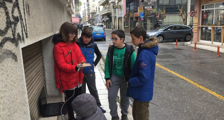 The way air pollution affects climate in a Mediterranean city named Volos, Greece